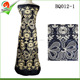 black brocade fabric bazin riche dresses fabric embroidered dress fabric in guangzhou lace market