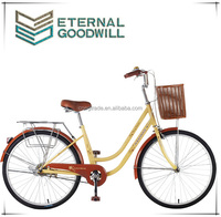 handicapped bike/24 inch girls beach cruiser bike colorful lady retro fashion Pastoral style bike/giant bikes Model GB3056