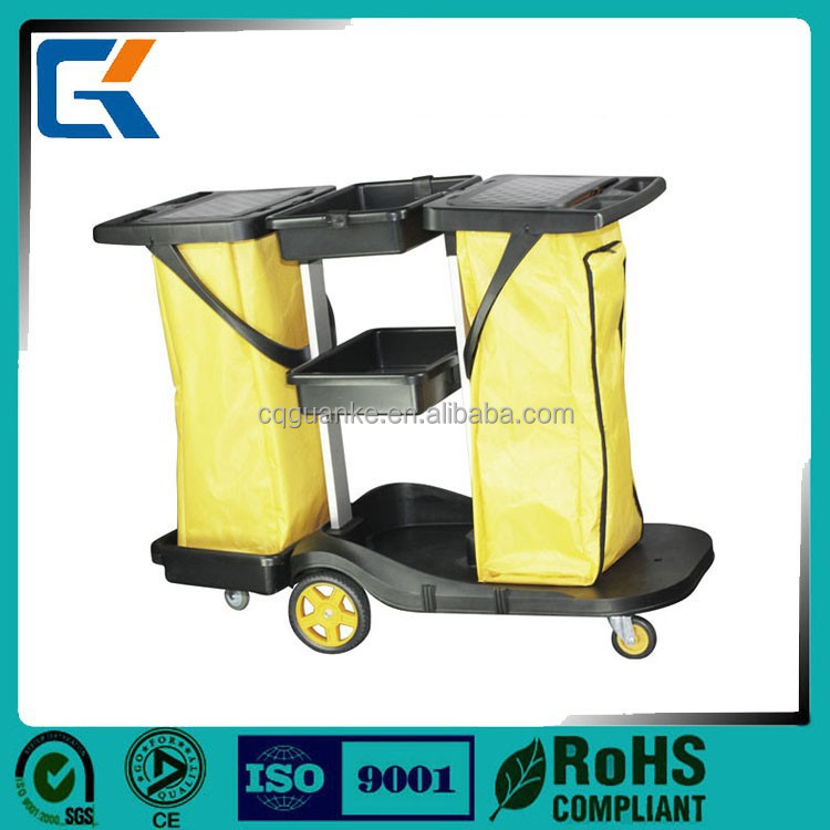 Large capacity high quality hotel supplies Janitor Cart for clean service