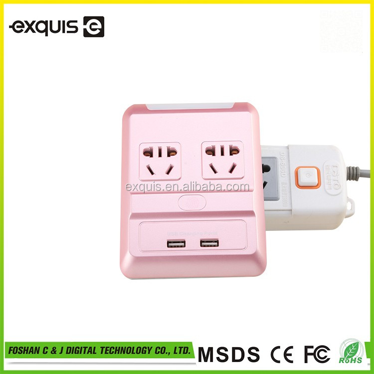 low cost high quality universal double usb wall socket,Usb wall socket,Smart Socket