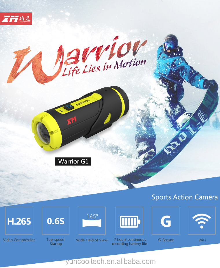 """Outdoor Sport Action Camera Full Hd For Bike/diving/surfing/skydiving"