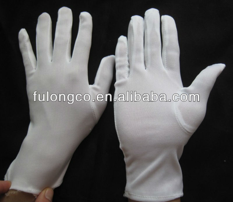 "9"" Light Weight Cotton Inspection Gloves - Ladies"