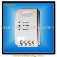 Combustible gas detector fire alarm for independent or network