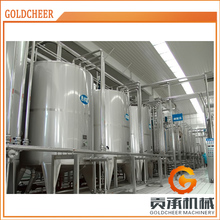 Stainless steel machine small scale uht milk processing plant