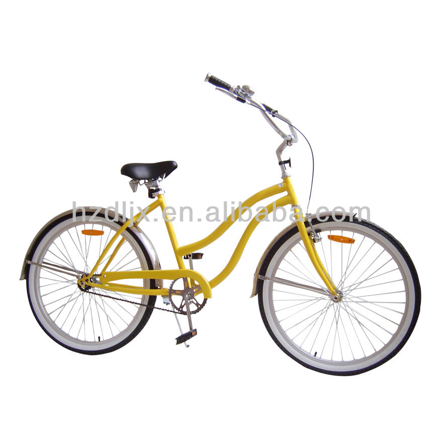 26'' Ladies' Beach Cruiser Bicycle