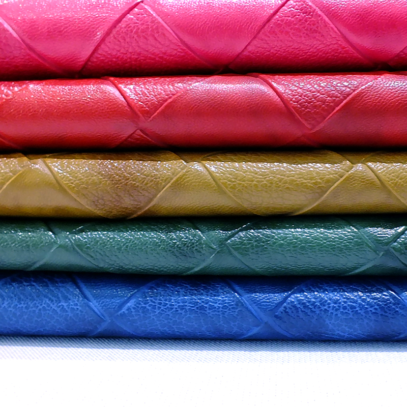 PU leather sofa fabric clothing hard package decoration decoration leather embossed leather