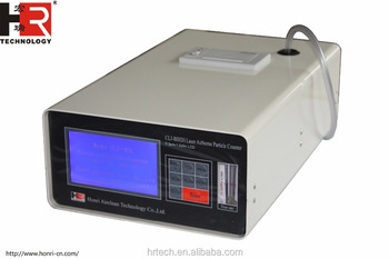 LCD screen Airborne Particle Counter 28.3L/min