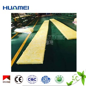 Grade A fireproof and sound fiberglass Mineral wool fiber glass wool blanket