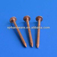 copper nails for boat for sale made in china/manufacturer