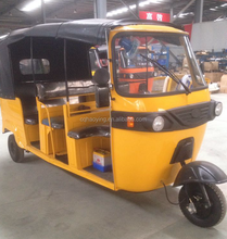 6-8 Passengers 200cc Three Wheel Bajaj Tuk Tuk Tricycle (Model: HY200ZH-3B)