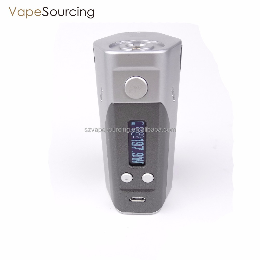 100% Original WISMEC Reuleaux DNA200 volve dna 200 Chip 200w TC Box Mod