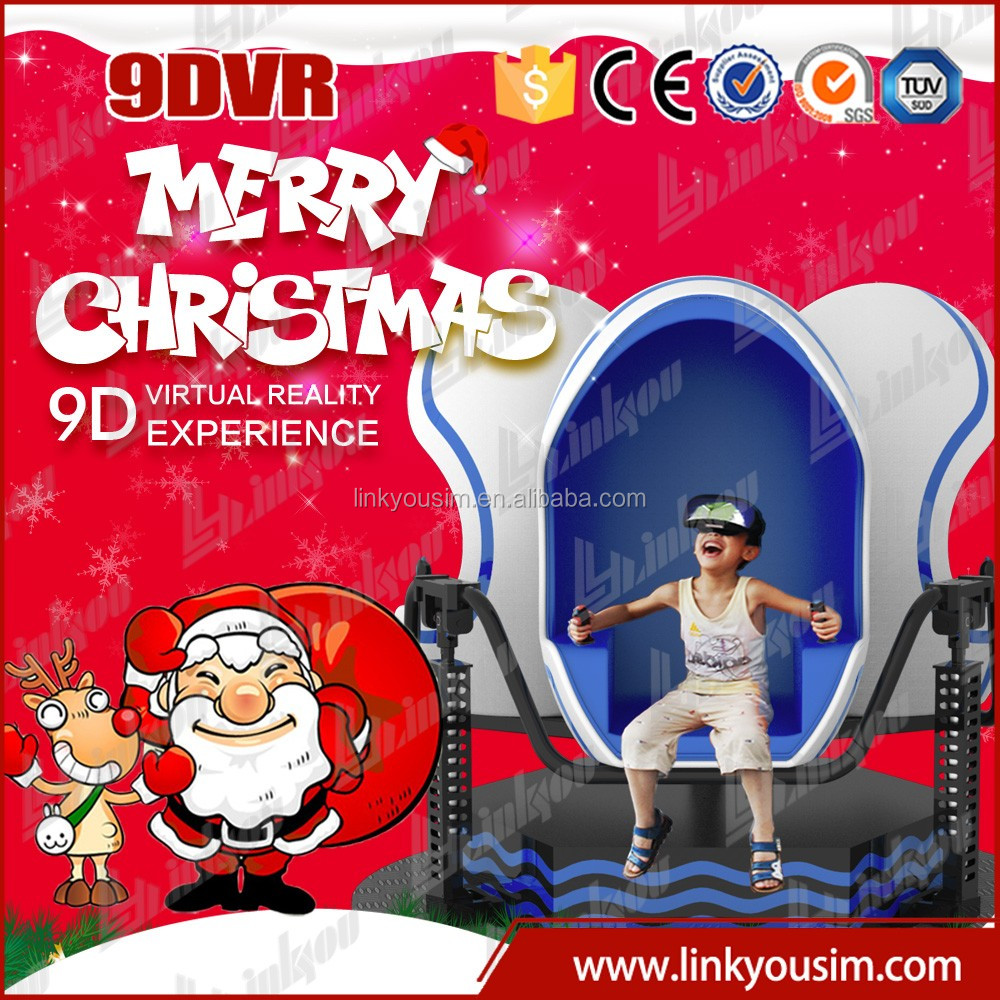 2015 Amusement park games 5d 7d 9d cinema 9d vr cinema simulator/theater equipment game machine for sale