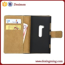 Genuine leather cell phone cover for nokia lumia 920 case accessories wholesale