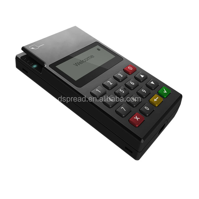 Mini Pos Terminal for Mobile Phone with IC Card Reader and Bluetooth