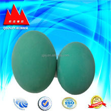 NBR/Viton/Silicone/EPDM solid rubber ball for valve