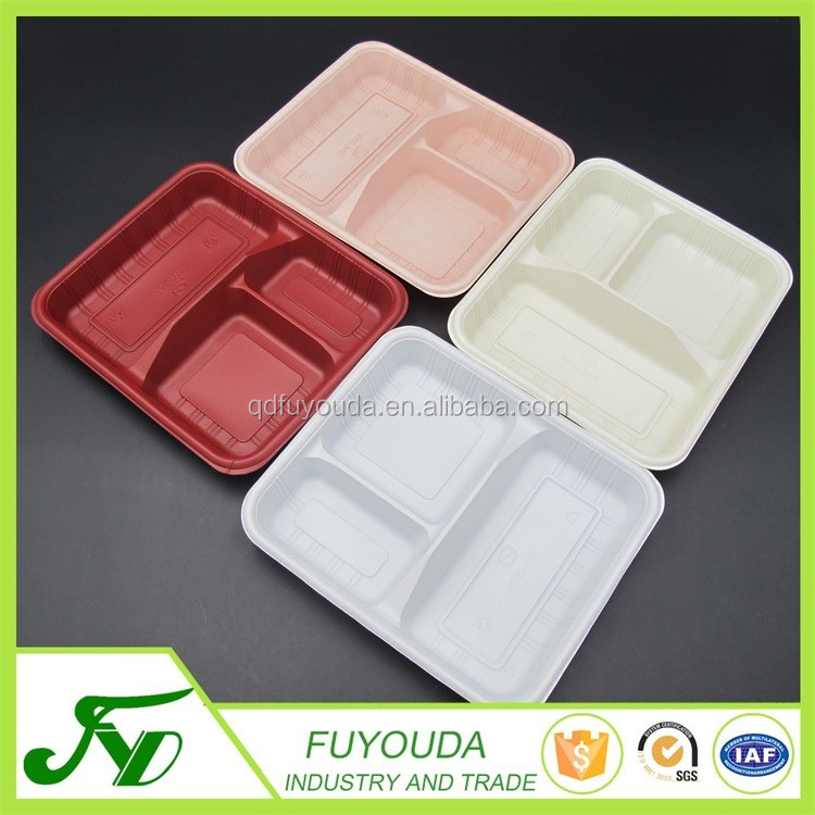 ECO-Friendly disposable take away container plastic food box