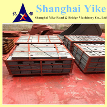 Mining impact Crusher blow bar Spare Parts,lining plate,cover
