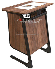 School Furniture Wood Table Design Cheap Teacher Desk