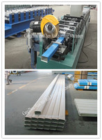 corrugated steel square downspout pipe roll forming machine