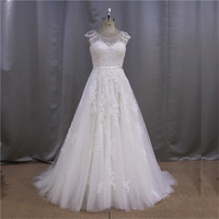Gorgeous fast delivery sexy iridescent princess cheap 2014 new design bias cut wedding dresses