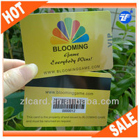 High quality blank magnetic gift cards