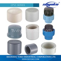 Guaranteed Quality plastic pvc pipe fitting end cap