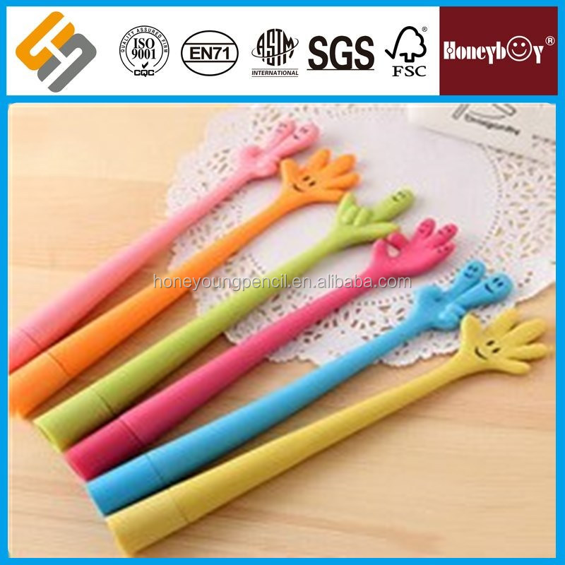Funny hand shape ball pen for promotion