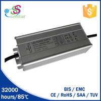 Aluminium case led driver waterproof IP67 for outdoor light 80w 30-35v switching power supply
