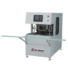 Kinbon upvc profile welding seam cleaning assembly machine equipment for window making 2 axis 3 cutters