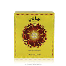 15ml Layali Swiss Arabian Attar Spicy Oriental Floral Concentrated Perfume Oil With Crystal Bottle