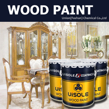 High performance NC solid color wood paint for furnitures