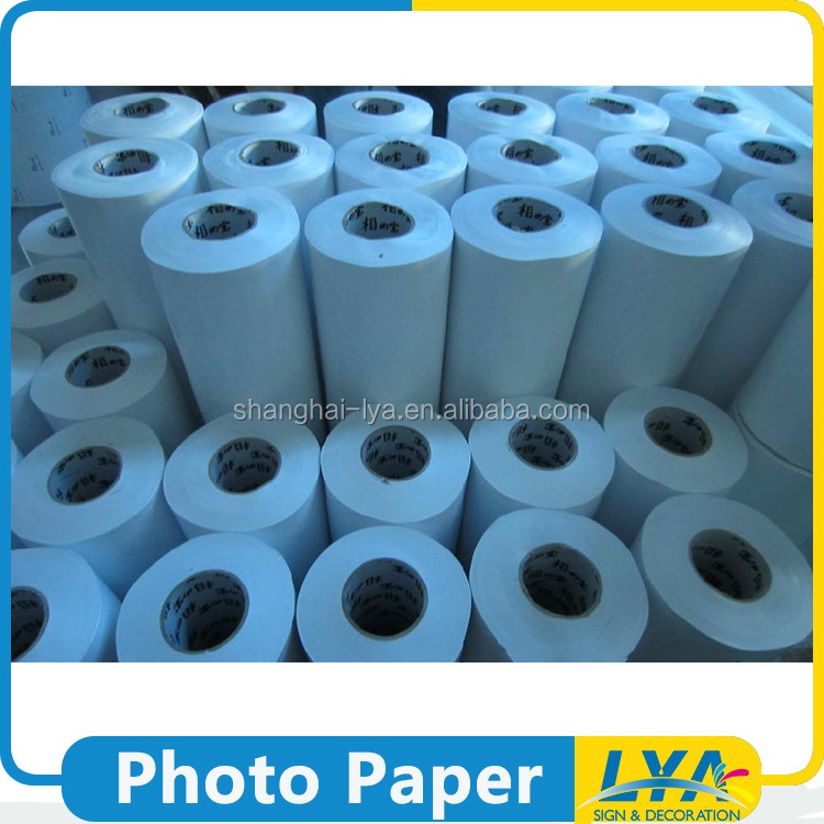 best quality 0.914/1.07/1.27/1.52m * 30m inkjet matte cast coated photo paper