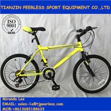 "20"" steel frame cheap price mountain bike children bike"