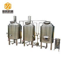 Best supplier in China 5 bbl 7 bbl 10 bbl beer brewing machine with conical fermenters