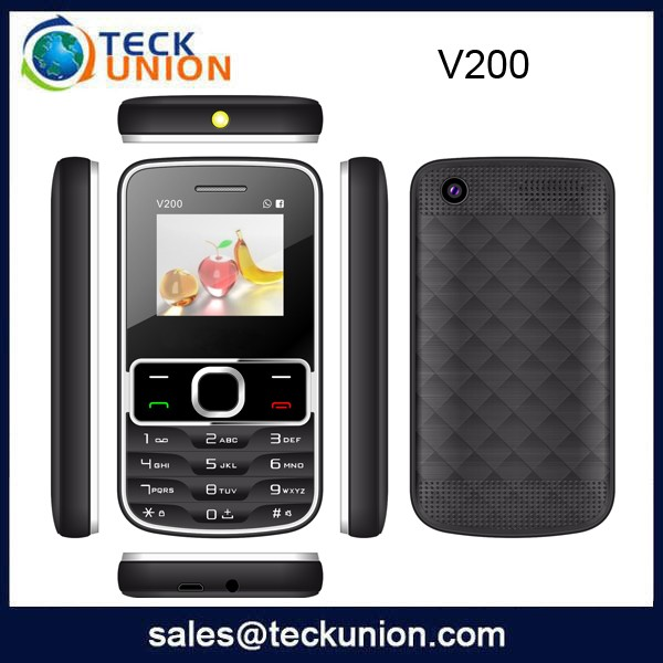 V200 1.8inch Dual Sim Handphone with Available RAM