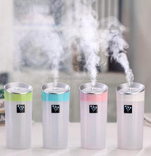 New design 300ML Ultrasonic Humidifier / USB Car Humidifier Aroma Essential Oil Diffuser / Aromatherapy Mist Maker Home Office