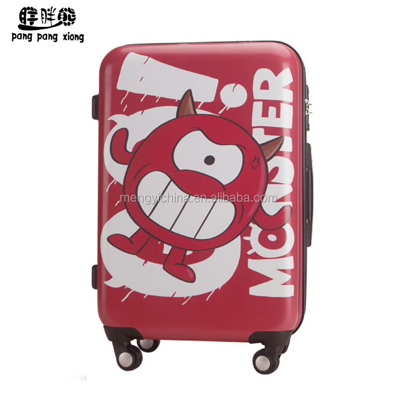 WAO one-eyed monster cartoon luggage for kids