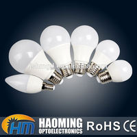 Save energy indoor AC 85-265v e27 led bulb