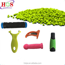 Recycled Handle Grip Raw Material Thermoplastic Elastomer TPE