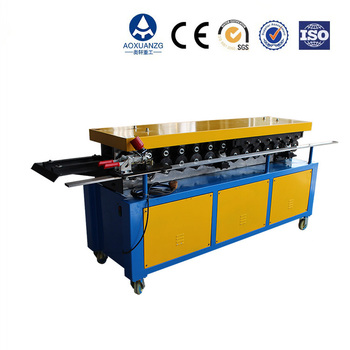 High quality factory price TDC duct flange facing machine HVAC air duct tdf flange forming machine