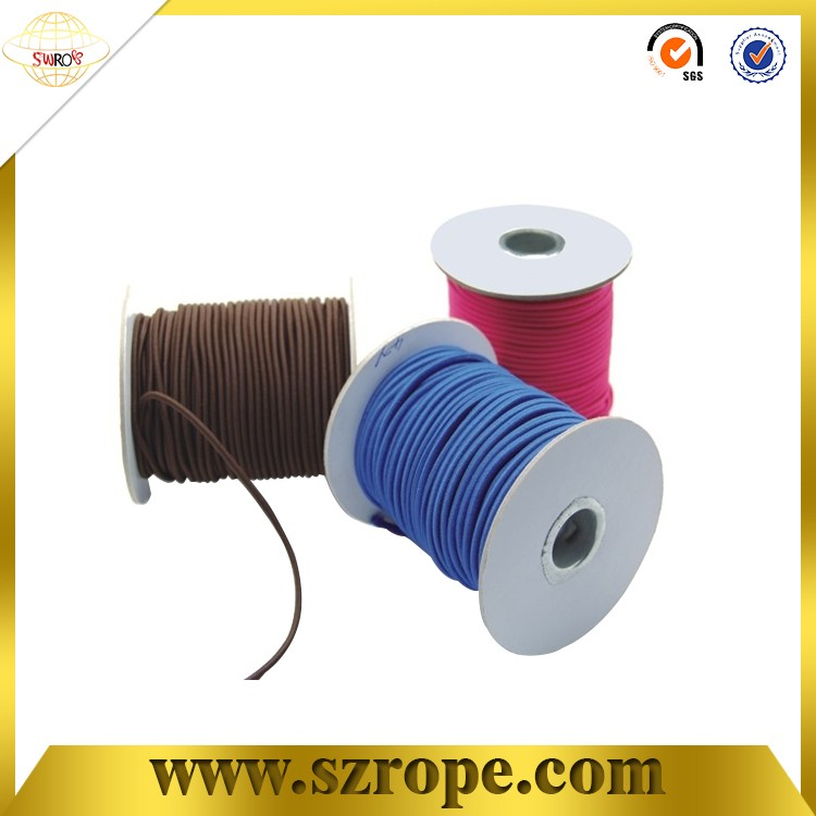 4 mm thin round elastic cord for garments