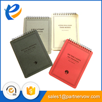 Office stationery writing plain printed custom note pad with pen