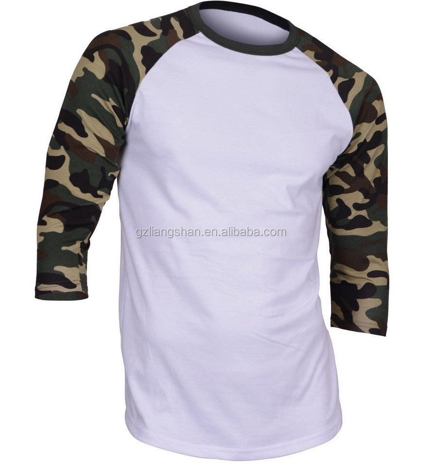 Oem men 39 s women 39 s baseball tee shirts wholesale 3 4 sleeve for American apparel plain t shirts bulk