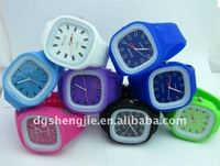 HOT SALE! Cool and strong waterproof jelly wrist watch men