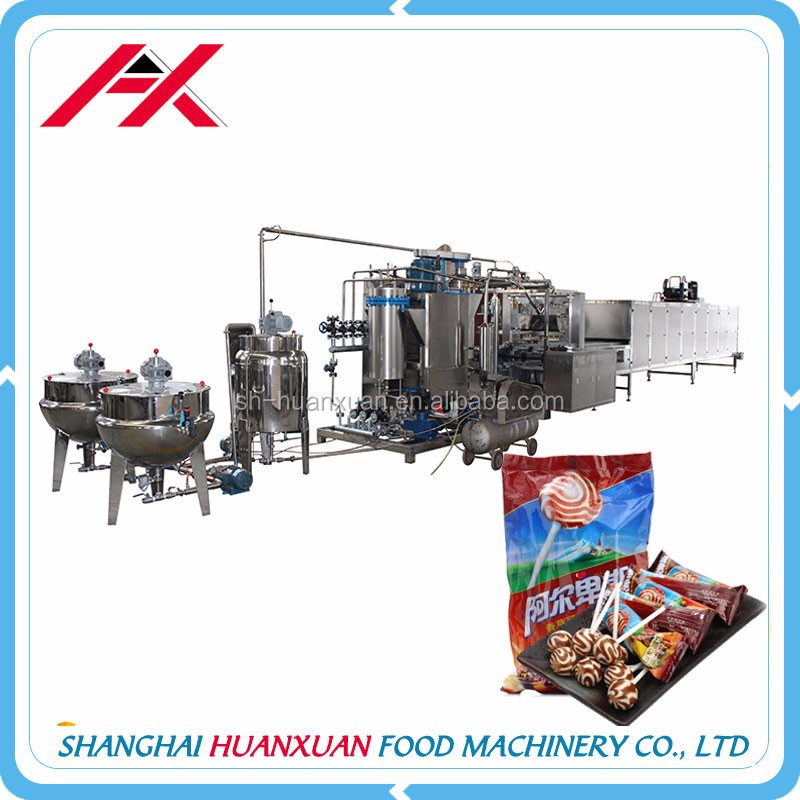 Full Automatic Industrial Beautiful Hard/Lollipop Candy Machine Forming Machine