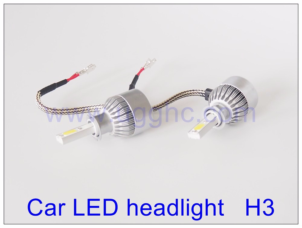 All in One 38W 3800LM Car Led Headlight Kit H3 LED