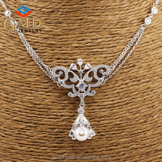 2017 new arrivals fashion design luxury handcrafted cultured pearl necklace