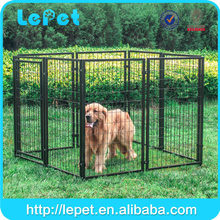 low MOQS large heavy duty welded wire panel Modular Outdoor Dog Kennel