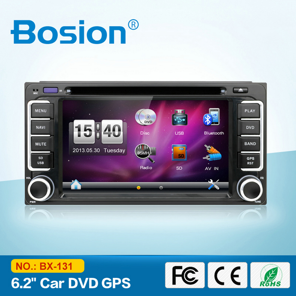6.2inch Touch Screen Dashboard Car Radio TV DVD for Toyota Hiace Terios