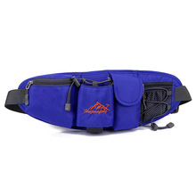 high quality funny nylon sports water bottle side waist bag for men